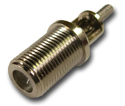 F straight crimp jack Connector