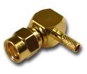 SMC right angle crimp plug