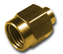 SMA straight solder plug Connector