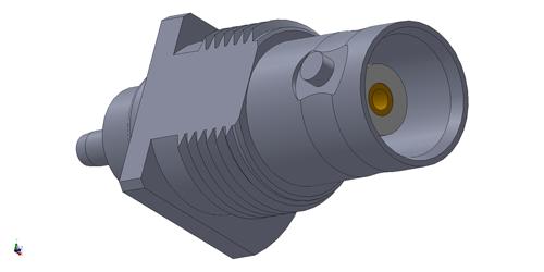 BNC rf connector LTI-BSF13RNT-316-X11