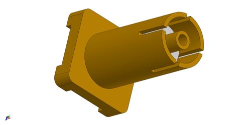 IPX rf connector LTI-IPXSF66GT-X2