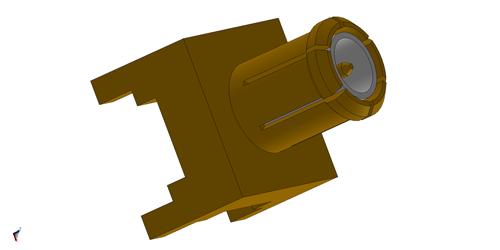 MCX rf connector LIT-MXSM54GT-X1