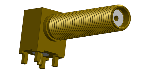 SMA rf connector LTI-SALF54LGT-X9