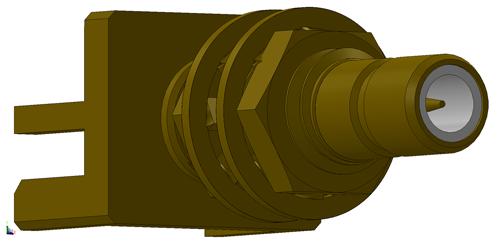 SMB rf connector LTI-SBSF553LGT-X1