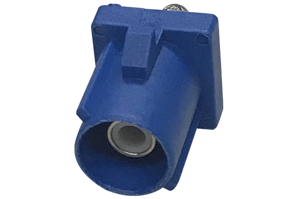 fakra straight crimp jack blue Connector