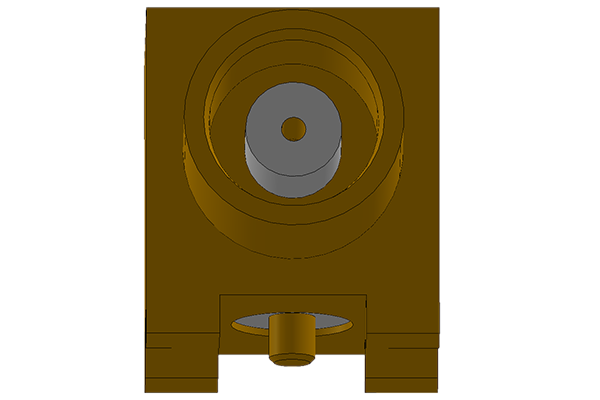 mcx right angle surface mount jack pcb Connector