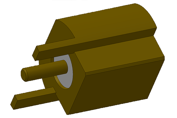 mcx edge mount jack pcb Connector