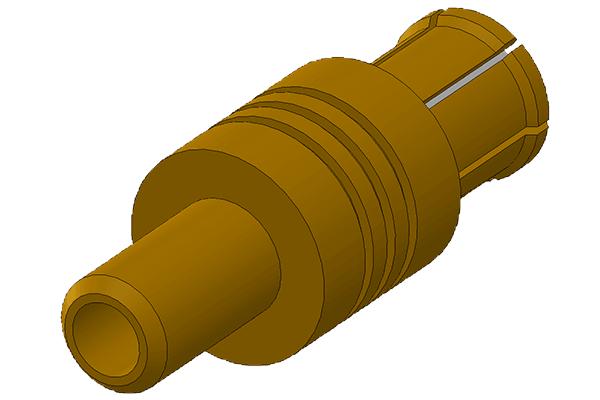 mcx straight crimp plug Connector