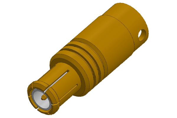 mcx straight solder plug Connector