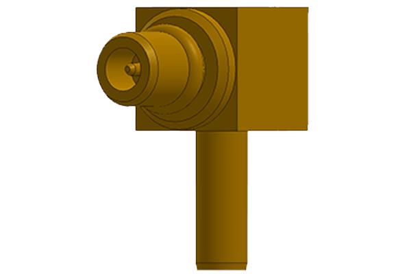 right angle crimp plug