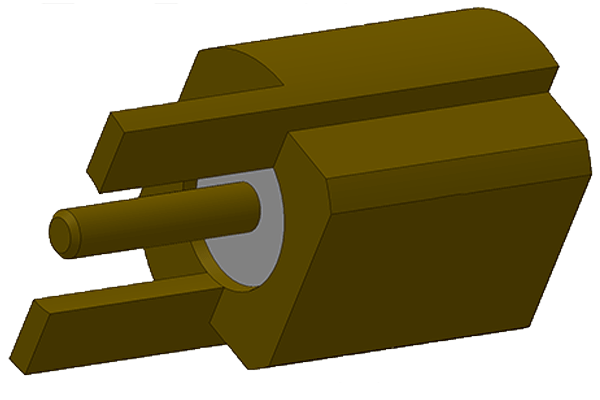 mmcx edge mount jack pcb Connector