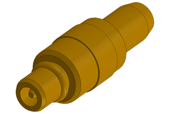 mmcx straight crimp plug Connector