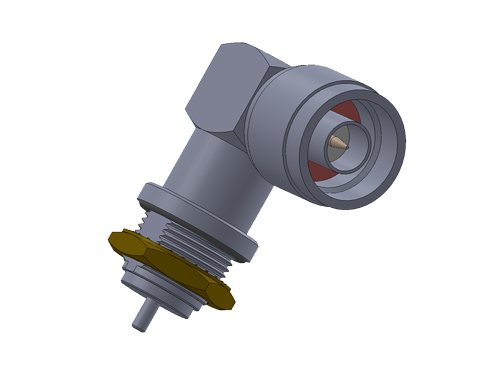 N Type RA Plug