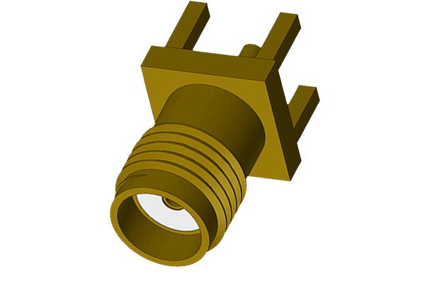 SMB vertical thru hole plug