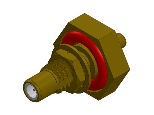 SMC Straight Jack Custom RF Connector