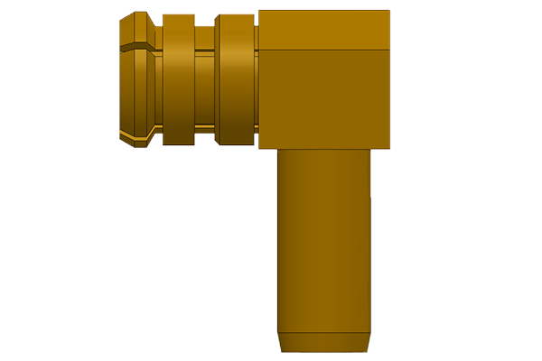 smp right angle crimp jack Connector