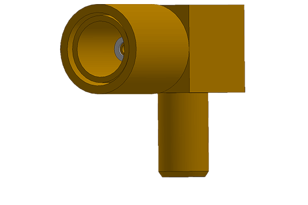 right angle crimp plug