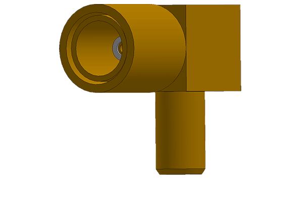 ssmb right angle crimp plug Connector