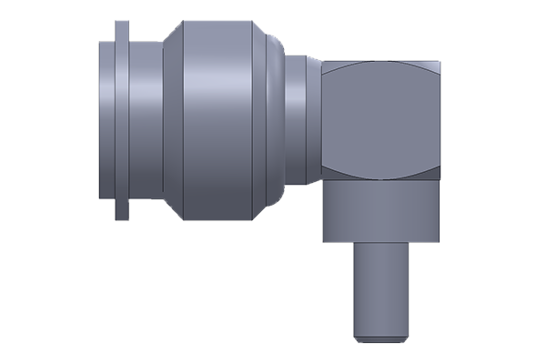 tnc right angle crimp plug Connector